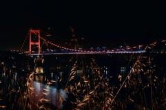 FSM桥梁伊斯坦布尔 库存照片