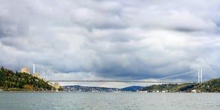 FSM Bridge. Istanbul FSM Bridge in Winter Royalty Free Stock Photos