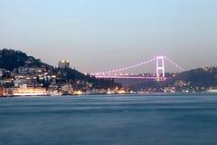 FSM Bridge and Rumeli Fortress Stock Image