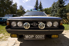 FSO Polonez car police Stock Photography