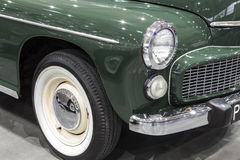 FSO Warszawa. On display at the International Fair in Poznan during the event Retro Motor Show Stock Photo