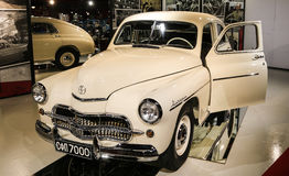 FSO Warszawa. Old car in retro museum Royalty Free Stock Images