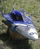 FSR class rc boat Stock Photos