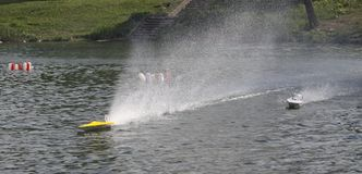 FSR class RC boat Royalty Free Stock Image
