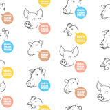 Fsrm Seamless Pattern Royalty Free Stock Images