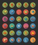 fästande ihop den digitala bland annat banor för symboler illustrationen skrapar lopp Arkivfoto