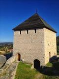 fästning i tesanj Fotografering för Bildbyråer