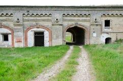 Fästning Kerch Arkivfoto