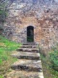 fästningdörr Fotografering för Bildbyråer