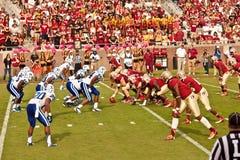FSU против Duke Футбола стоковые фотографии rf