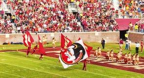 FSU-Cheerleadern Lizenzfreie Stockfotos