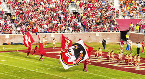 FSU Cheerleaders Royalty Free Stock Photos