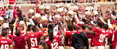 FSU Football Royalty Free Stock Photos