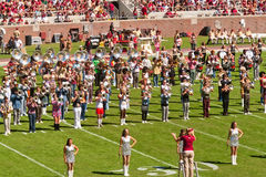 FSU's Marching Chief's Band Stock Photography