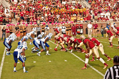FSU vs Duke Football Royalty Free Stock Photos