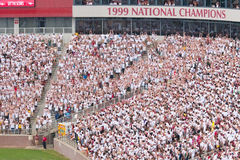FSU White-out Game Stock Photography