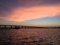 Ft梅尔思FL桥梁 库存图片