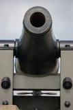 Ft梅肯32磅大炮 免版税库存照片