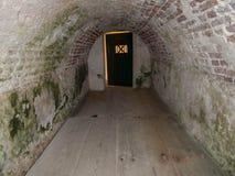 Ft的被成拱形的室 Christiansted 免版税库存照片