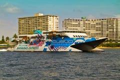 从Ft的Bahama古巴轮渡 lauderdale 免版税库存图片