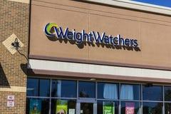 Ft Уэйн - около сентябрь 2016: Наблюдатели веса встречая положение Oprah Winfrey акционер наблюдателей веса II Стоковое Изображение