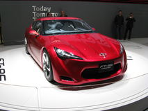 FT-86. Coupe' prototype presented by Toyota at the 2010 Geneva Motorshow Stock Images