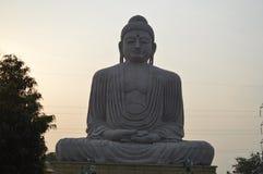 Buddha statue, Daijokyo Budhist temple Bodhgaya Bihar. 80 ft Buddha statue, Daijokyo Budhist temple Bodhgaya Bihar Royalty Free Stock Images