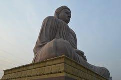 Buddha statue, Daijokyo Budhist temple Bodhgaya Bihar. 80 ft Buddha statue, Daijokyo Budhist temple Bodhgaya Bihar Stock Images