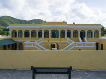 Ft. Christiansted. At Christiansted, St. Croix, U.S. Virgin Islands Royalty Free Stock Photos