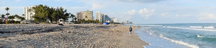 Ft.Lauderdale Beach Stock Image