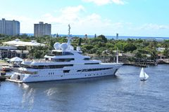 Ft. Lauderdale Beach Royalty Free Stock Photos