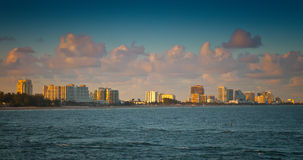 Ft. Lauderdale. Coastline and beach of Ft. Lauderdale, Florida Stock Photography