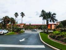 Ft Lauderdale, EUA - 12 de maio de 2018: Ft Hotel e séries de estância de verão de Lauderdale fotografia de stock