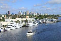 Ft. Lauderdale linia horyzontu obraz stock