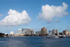 Ft Lauderdale waterfront Stock Image
