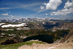13,000 Ft at Mammoth Peak Royalty Free Stock Photo