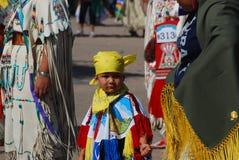 Ft Mcdowell, Аризона, 5-ое апреля 2014, торжество вау плена США, edi Стоковые Фото
