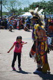 Ft Mcdowell, Arizona, April 5, 2014, USA Pow Wow celebration,edi Stock Photos