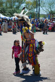 Ft Mcdowell, Arizona, April 5, 2014, USA Pow Wow celebration,edi Royalty Free Stock Photo