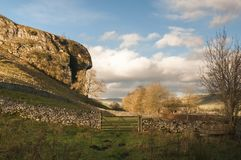 Kilnsey Crag royalty free stock photography