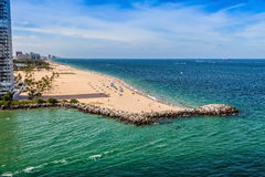 Ft Praia de Lauderdale Fotografia de Stock Royalty Free