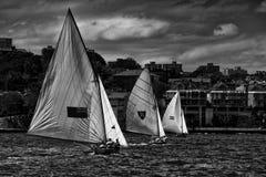 18ft Skiffs Stock Image