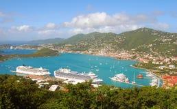 FT Thomas, Stati Uniti Isole Vergini fotografie stock libere da diritti