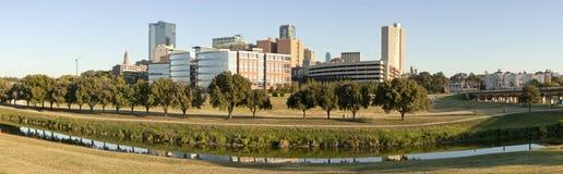 Ft värd, (panorama-) Texas, Arkivbild