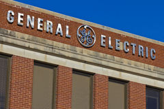 Ft Wayne IN - Circa December 2015: General Electric fabrik Arkivbilder
