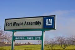Ft Wayne - circa dicembre 2015: Fortificazione Wayne Assembly Plant del GM Fotografia Stock