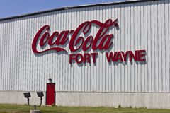 Ft. Wayne, IN - Circa July 2016: Coca-Cola Bottling, the World's Largest Beverage Company II Royalty Free Stock Images