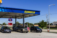 Ft. Wayne - Circa September 2016: Sunoco Retail Gasoline Location. Sunoco is a Subsidiary of Energy Transfer Partners II Stock Photo