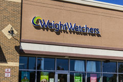 Ft. Wayne - Circa September 2016: Weight Watchers Meeting Location. Oprah Winfrey is a Weight Watchers Stockholder II Stock Image