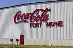Ft Wayne, DENTRO - cerca do julho de 2016: Coca-Cola que engarrafa, a Grande Bebida Empresa do Mundo II Imagens de Stock Royalty Free
